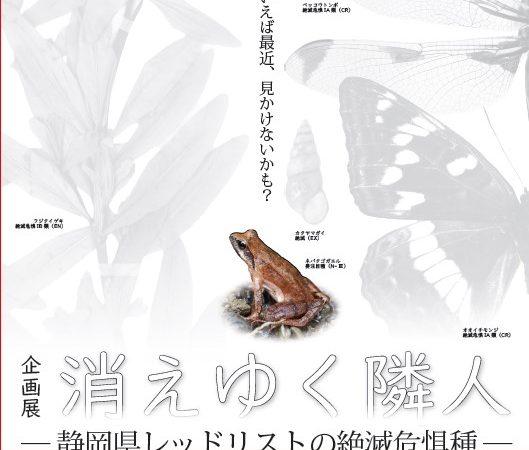 消えゆく隣人-静岡県レッドリストの絶滅危惧種